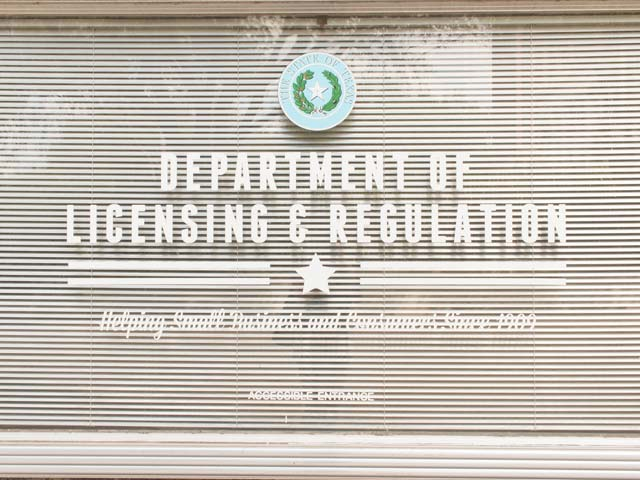 texas department licensing regulation tdlr